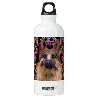 German Shepherd Mardi Gras SIGG Traveller 0.6L Water Bottle