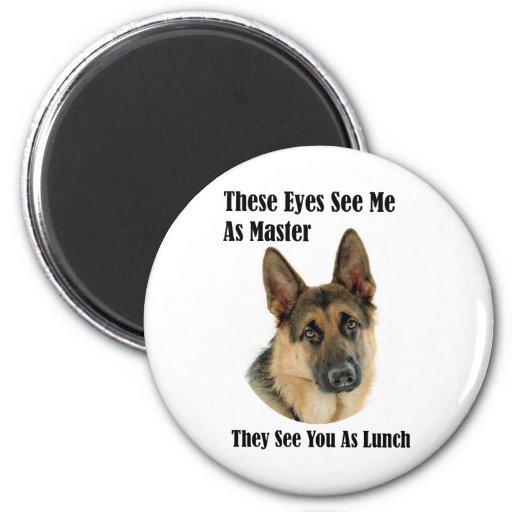 German Shepherd Master Magnets