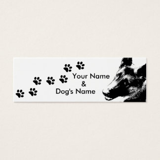 55 german shepherd business cards and german shepherd business card templates. Black Bedroom Furniture Sets. Home Design Ideas