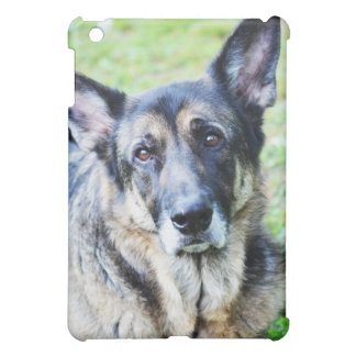 German Shepherd Modern Photo iPad Case
