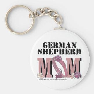 German Shepherd Mom Key Ring