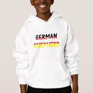 german shepherd name in flag