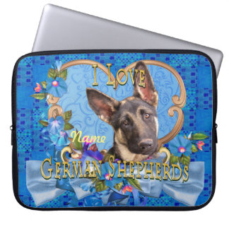 German Shepherd Neoprene Laptop Sleeve 15 inch