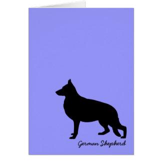 German Shepherd Note Card