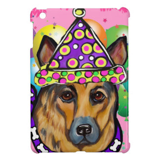 German Shepherd Party Dog iPad Mini Cover