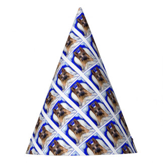 German Shepherd  PET ANGEL Party Hat