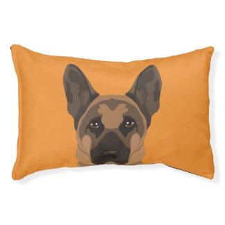 German Shepherd Pet Bed