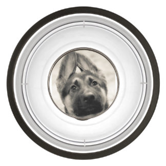 German Shepherd pet bowl