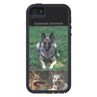 German Shepherd: Picture Collage Tough Xtreme iPhone 5 Case