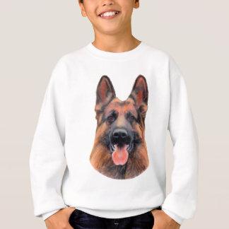 German Shepherd Portrait Sweatshirt