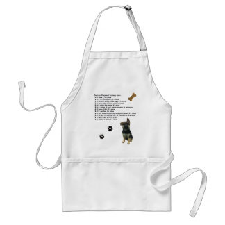 German Shepherd Property Laws Apron