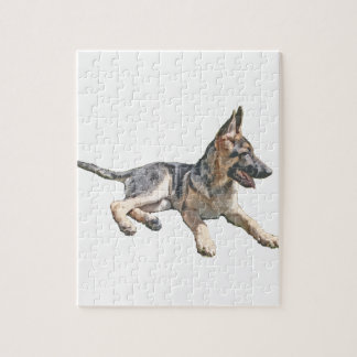 German Shepherd pup Jigsaw Puzzle
