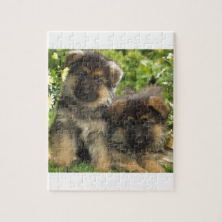 German Shepherd Puppies Jigsaw Puzzle