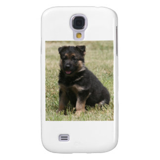 "German Shepherd Puppy ""Caitie"" Galaxy S4 Covers"