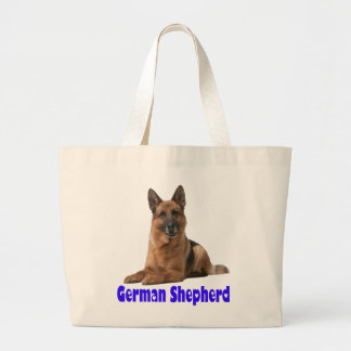German Shepherd Puppy Dog Tote Bag