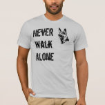 German Shepherd Rescue T-shirt Never Walk Alone