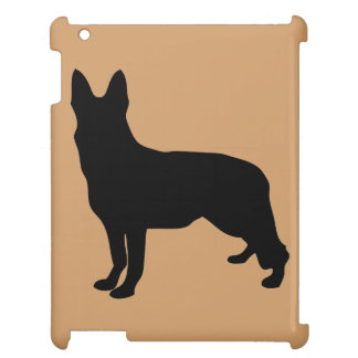 German Shepherd Silhouette Cover For The iPad 2 3 4