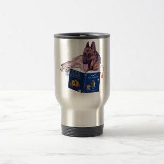 German Shepherd Stainless Travel/Commuter Mug