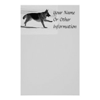 German Shepherd Stationery