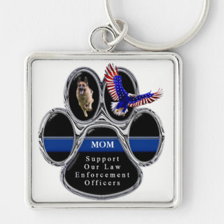 German Shepherd - Support Law Enforcement Officers Key Ring