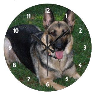 German Shepherd: Wall Clock