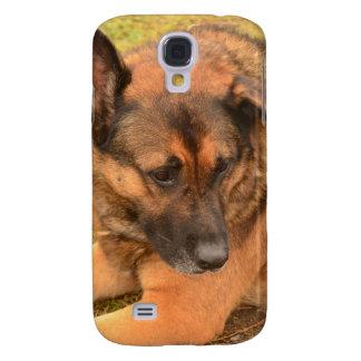 German Shepherd with One Floppy Ear Galaxy S4 Case