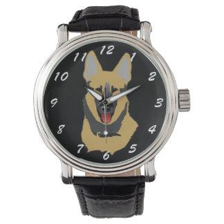 German Shepherd Wristwatches