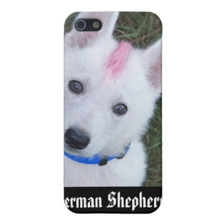 German Shepherds Always Look Tough iPhone 5 Cases