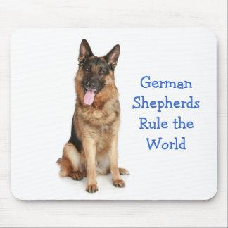 German Shepherds Rule the World Mousepad