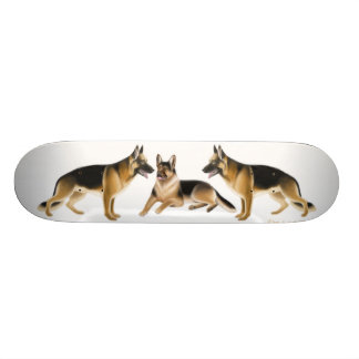 German Shepherds Skateboard