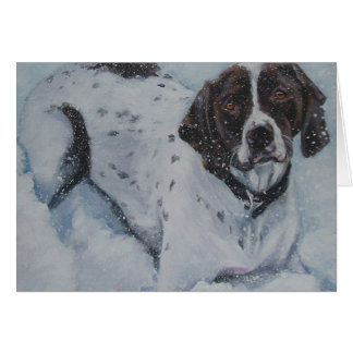 German Short haired pointer blank card gsp