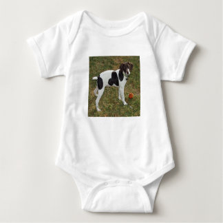 German_short_haired_pointer_puppy Baby Bodysuit