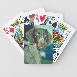 German Shorthair Pointer Dog Playing Cards