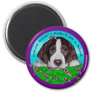 German Shorthair Pointer Puppy Magnet
