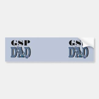 German Shorthaired Pointer DAD Bumper Sticker