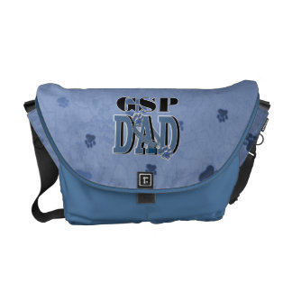 German Shorthaired Pointer DAD Courier Bag