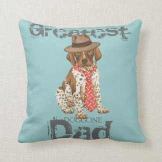 German Shorthaired Pointer Dad Cushion
