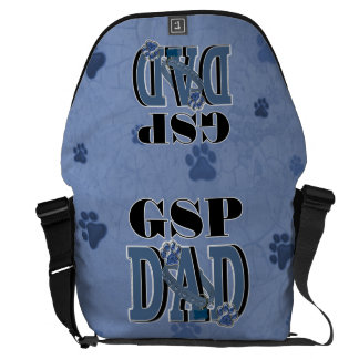 German Shorthaired Pointer DAD Messenger Bag