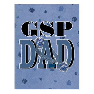 German Shorthaired Pointer DAD Postcard