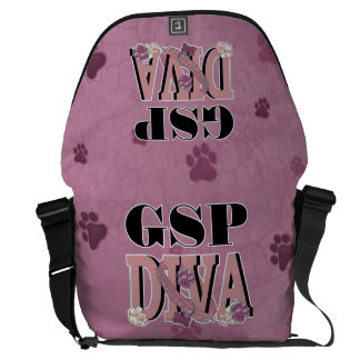 German Shorthaired Pointer DIVA Commuter Bag