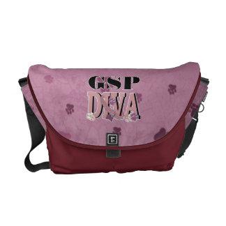 German Shorthaired Pointer DIVA Messenger Bag