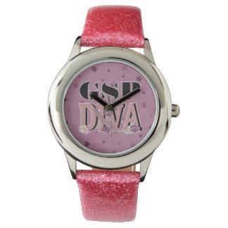 German Shorthaired Pointer DIVA Wrist Watches