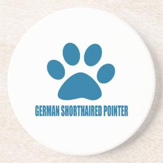 GERMAN SHORTHAIRED POINTER DOG DESIGNS COASTER