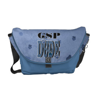 German Shorthaired Pointer DUDE Messenger Bag