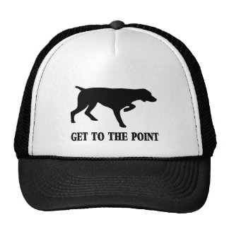 """German Shorthaired Pointer """"Get to the Point"""" Cap"""