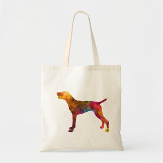 German Shorthaired Pointer in watercolor Tote Bag