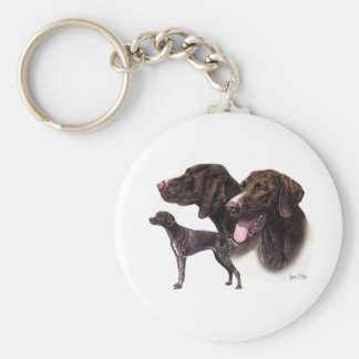 German Shorthaired Pointer Key Ring