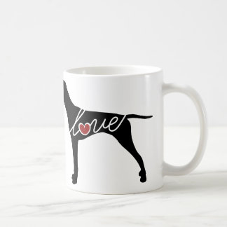 German Shorthaired Pointer Love Coffee Mug