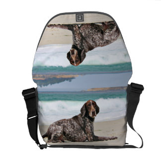 German Shorthaired Pointer - Luke - Riley Commuter Bags