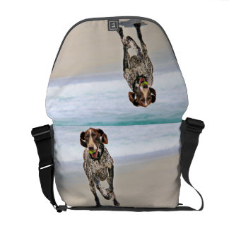German Shorthaired Pointer - Luke - Riley Courier Bags